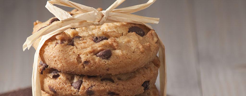 Suikerarme chocolate chip cookies!