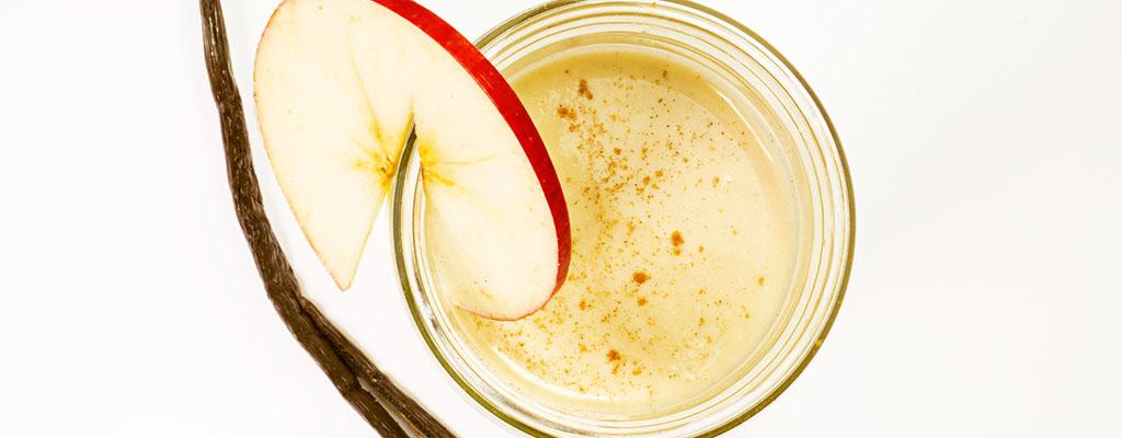 Appel komkommer kaneel smoothie