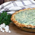 Spinazie taart met Fiberfin