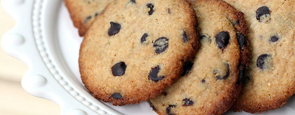Gevaarlijk lekkere chocolate chip cookies
