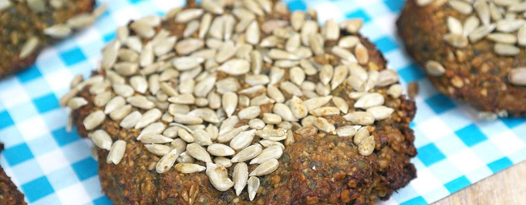 Suikervrije & glutenvrije pitten koeken