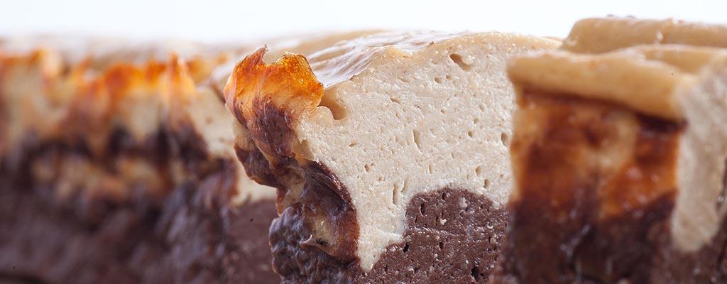 chocolade-pindakaas-kwarkcake