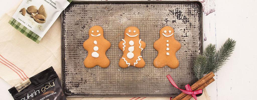 Gingerbread koekjes voor een zoete & suikerarme kerst!
