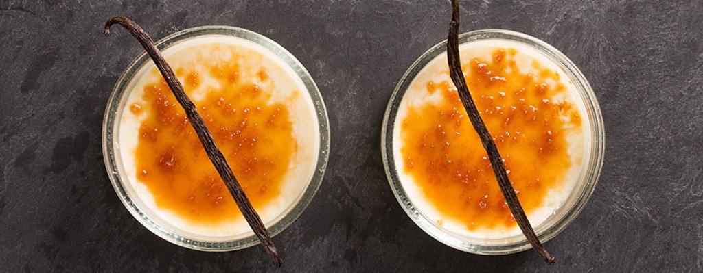 Suikervrije crème brulee