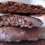 Chocolade biscuits light en proteïnerijk