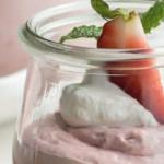 koolhydraatarme-suikervrije-aardbeienmousse