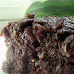 suikervrije courgette chocoladecake