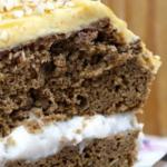 suikervrije en glutenvrije puddingcake