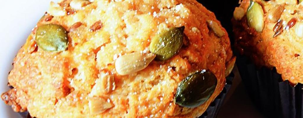 Glutenvrije muffins banaan