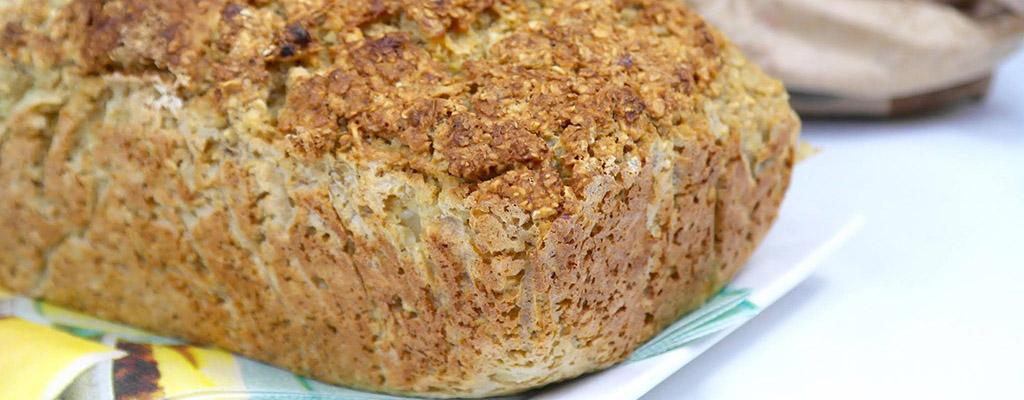 Glutenvrij brood met een notige twist!