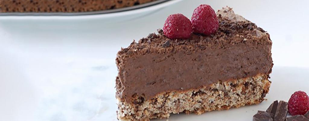 chocolade cake mousse