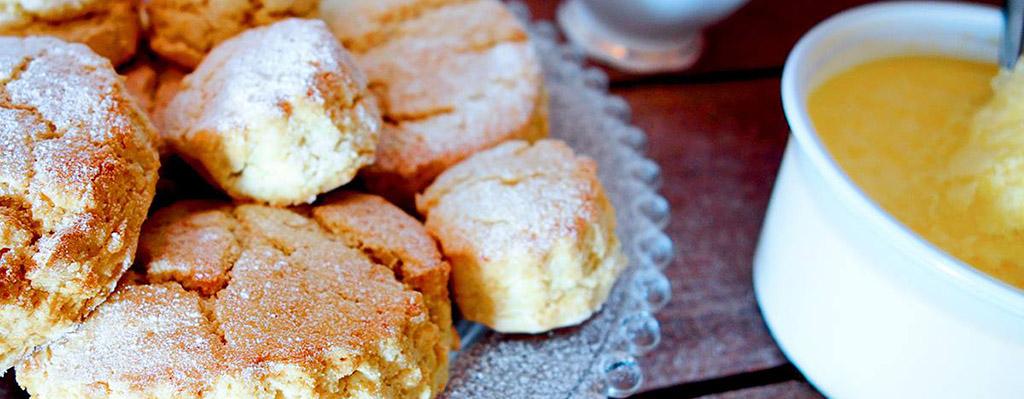 Suikervrije en glutenvrije scones