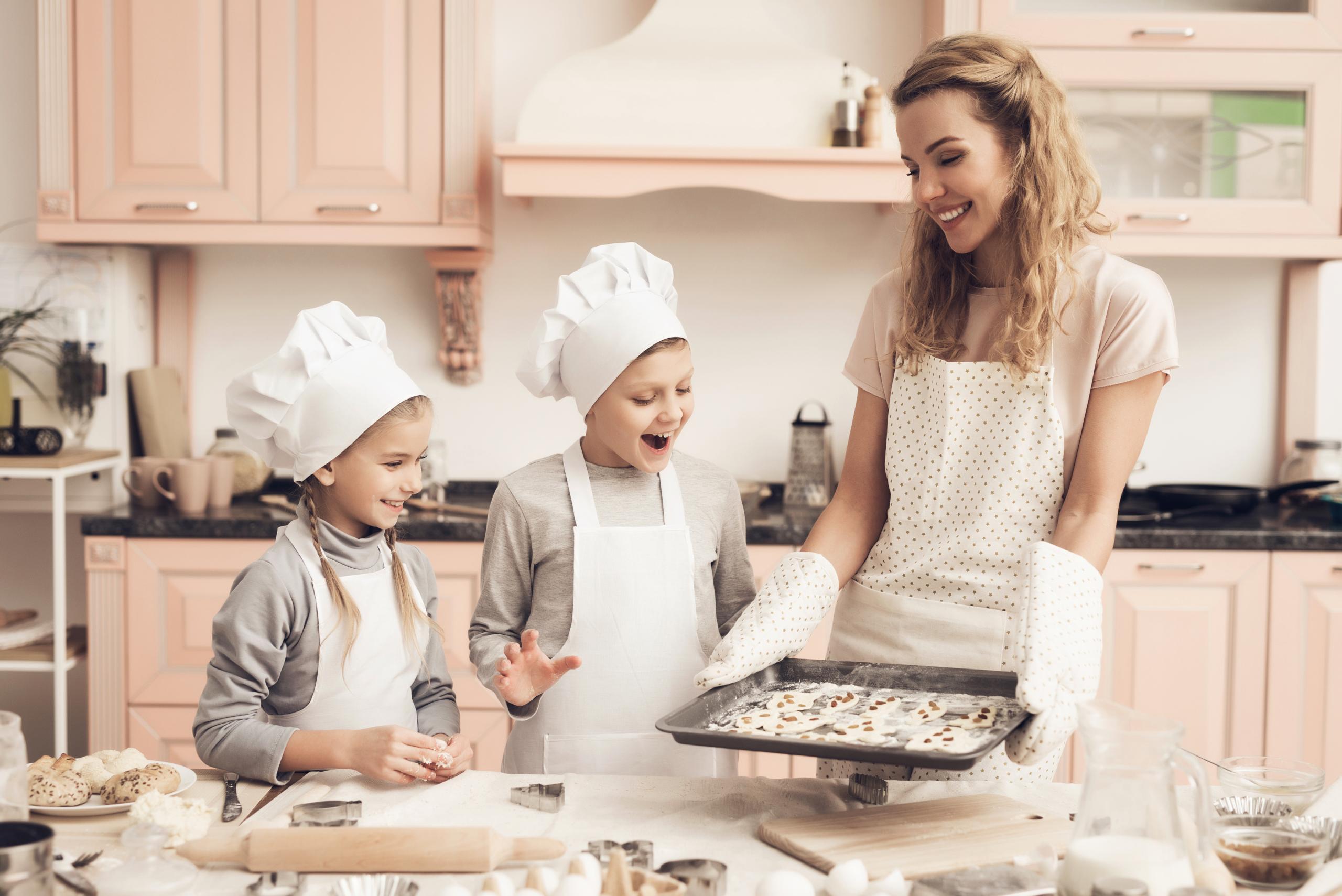 Suikervrij bakken met kinderen