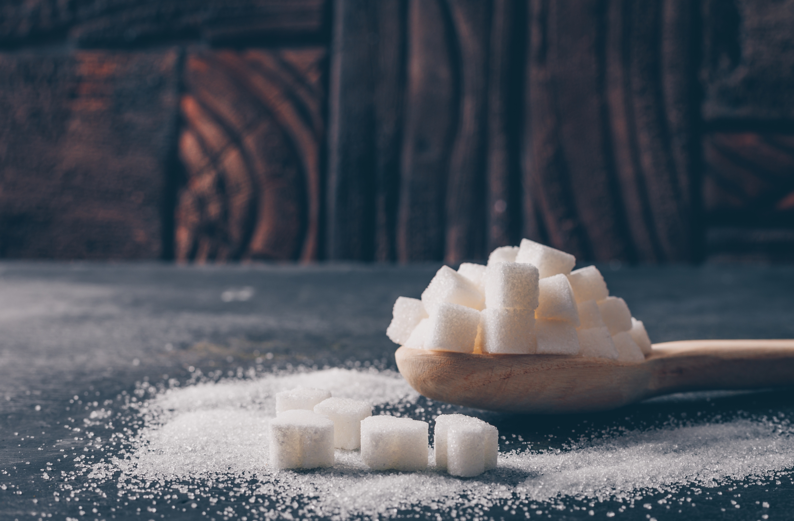 Geraffineerde suiker en ongeraffineerde suiker