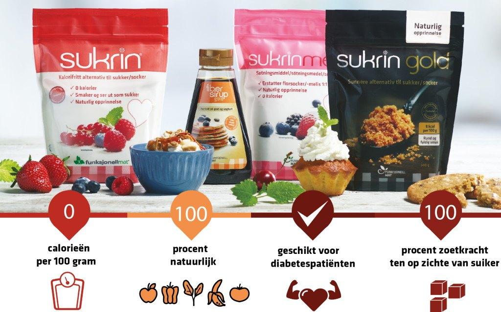 sukrin voordelen diabetes