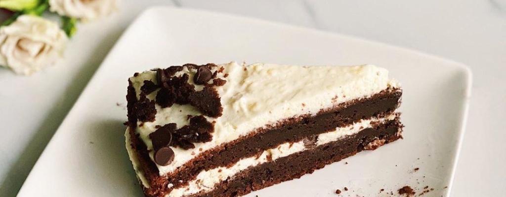 Suikerarme chocoladetaart