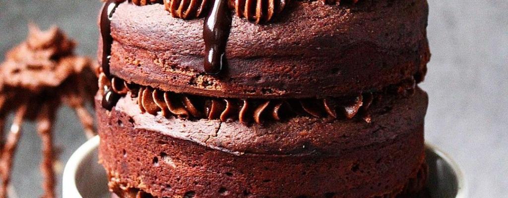 Suikervrije chocoladetaart