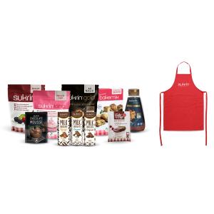 Sweet deal + gratis Sukrin schort twv €14,95