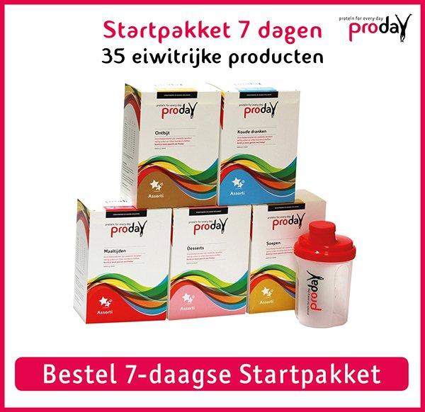 banner 7 daagse startpakket